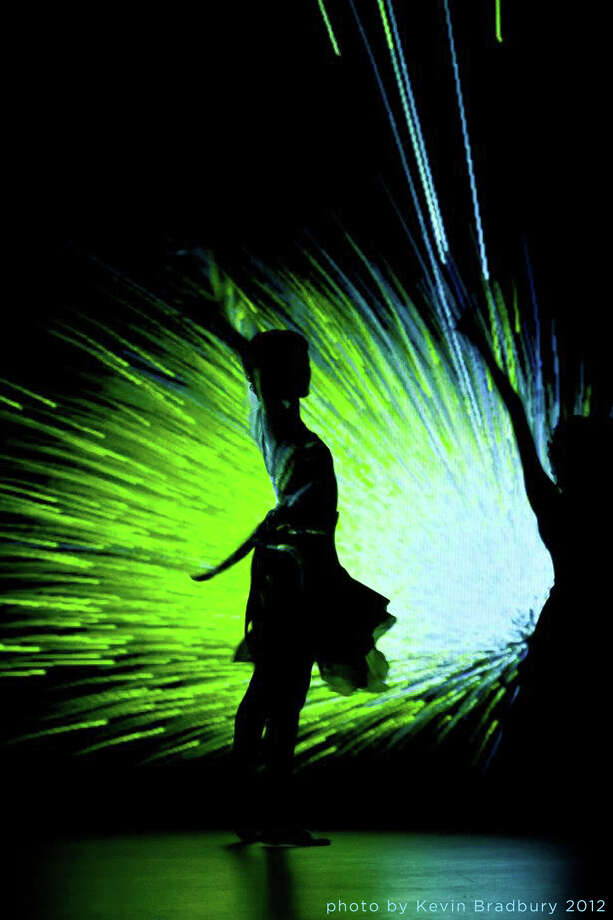 ARTheism combines digital projections with stirring choreography. Photo: Courtesy Kevin Bradbury / copyrighted