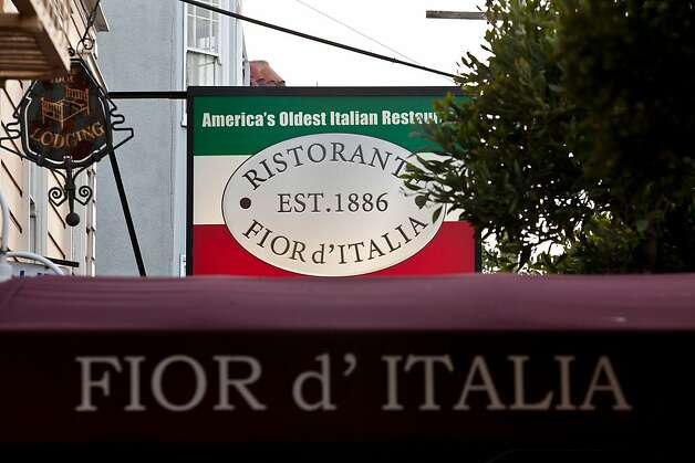 After 126 years, America's oldest italian restaurant Fior D'Italia is closing its doors for the last time in San Francisco, Calif., May 21, 2012.Jason Henry/Special to The Chronicle Photo: Jason Henry, Special To The Chronicle