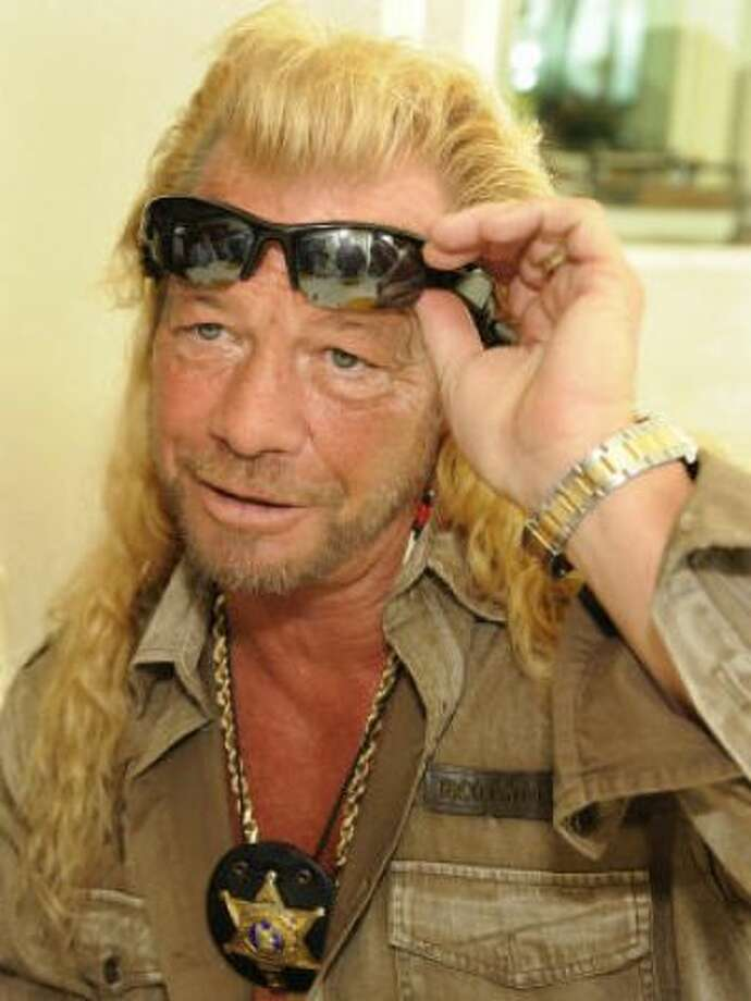 Dog Chapman: Bounty-huntin? mullet Photo: RONEN ZILBERMAN, AP / HC