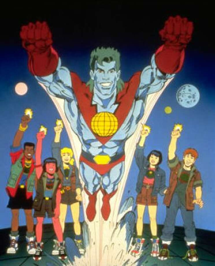 3. 'Captain Planet and the Planeteers' - Like 'Mighty Morphin Power Rangers,' this was another show featuring a team of teens hell bent on saving the planet — from pollution and a band of eco-villians. Each Planeteer wore a ring which could summon Captain Planet. You know you wanted a Captain Planet ring. Don't lie. And if watching this show didn't make you recycle, nothing would. YouTube: Let our Powers Combine!