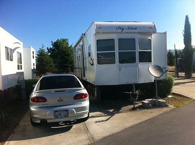 The trailer on Tuesday, May 22, 2012, where Antolin Garcia-Torres, 21, lived with his wife, mother and 18-month-old child. Garcia-Torres has been arrested on suspicion of kidnapping and murder in the case of missing Morgan Hill teen Sierra LaMar. Photo: Justin Berton, The Chronicle