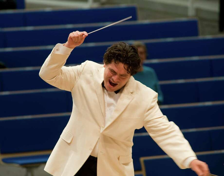 Conductor Cristian Macelaru will lead the Memorial Day weekend concerts by the San Antonio Symphony. Courtesy San Antonio Symphony.
