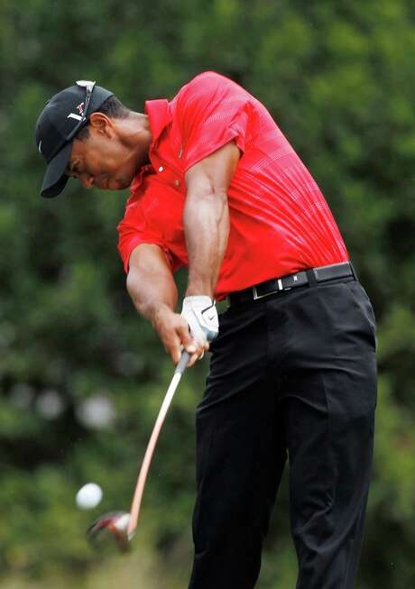Tiger Woods has more 40th-place finishes this year (2) than victories (1), but the world's former No. 1-ranked player says he's right on track. Photo: AP