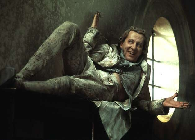 "Actor Geoffrey Rush's performance as the Marquis de Sade in ""Quills"" has earned him a Golden Globe award nomination as best dramatic actor in a film, it was announced during a ceremony in Beverly Hills on December 21, 2000. Rush is joined in the category by actor Michael Douglas in ""Wonder Boys, "" Tom Hanks in ""Cast Away, "" Russell Crowe in ""Gladiator, "" and Javier Bardem in ""Before Night Falls."" REUTERS/David Appleby/ Fox Searchlight Handout Photo Photo: Ho, REUTERS"