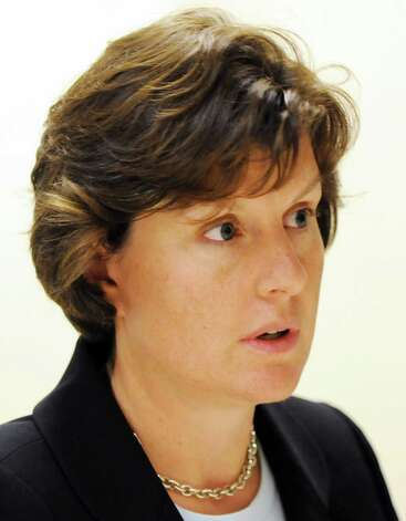 Syracuse Mayor Stephanie Miner speaks during an editorial board meeting Tuesday Sep. 27, 2011.  (Will Waldron / Times Union archive) Photo: Will Waldron