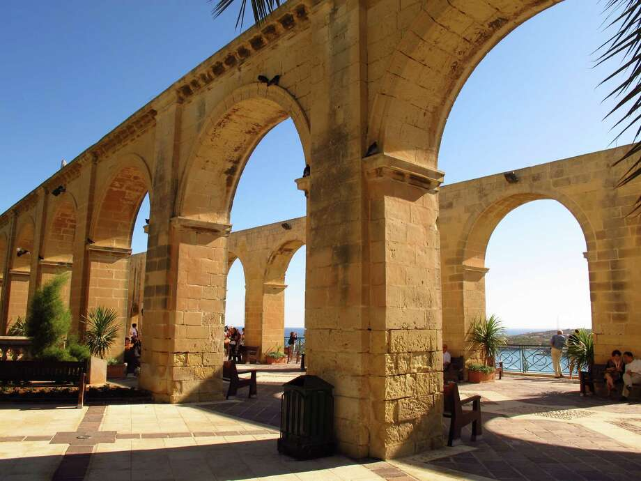 Upper Barracca Gardens in Valletta, the capital of Malta, provides sweeping views of Grand Harbour. Photo: Amy Laughinghouse