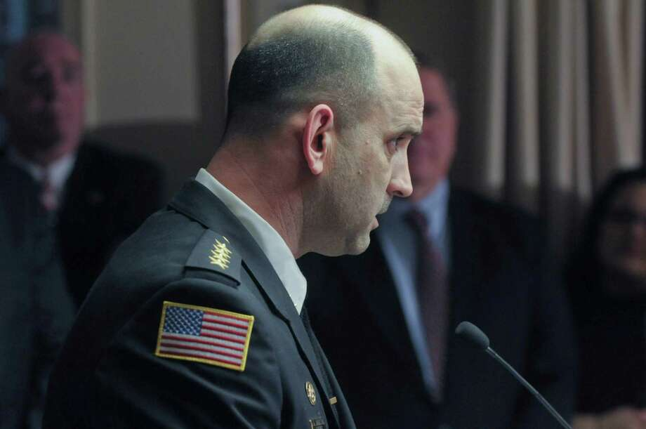 Dominic Dagostino, Schenectady County Sheriff, Wednesday, Jan. 25, 2012. Dagostino Tuesday acknowledged there was an incident involving a jail guard that was handled internally, but declined to offer any specifics. He would only say that ?individuals that were involved were disciplined and we move forward from there.?   (Paul Buckowski / Times Union archive) Photo: Paul Buckowski