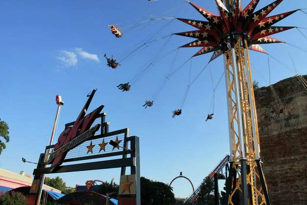 The new SkyScreamer, which opens Memorial Day weekend at Six Flags Fiesta Texas. Photo: Courtesy Photo