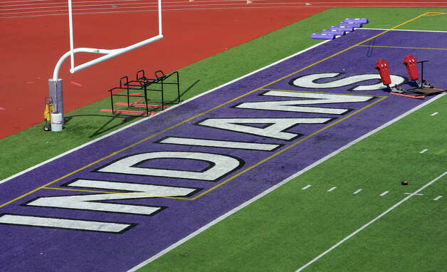 The Port Neches-Groves' football field is again a popular topic as the district's board members listened to proposals Monday night to replace the field.  Photo taken Monday, May 21, 2012 Guiseppe Barranco/The Enterprise Photo: Guiseppe Barranco, STAFF PHOTOGRAPHER / The Beaumont Enterprise