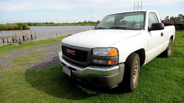 J.B. Arrington's truck was still at Peggy's on the Bayou on Cow Bayou  after Arrington and friend, Nolan Forman failed to return from an early morning fishing trip in 2009  Tammy McKinley, The Enterprise Photo: TAMMY MCKINLEY / Beaumont
