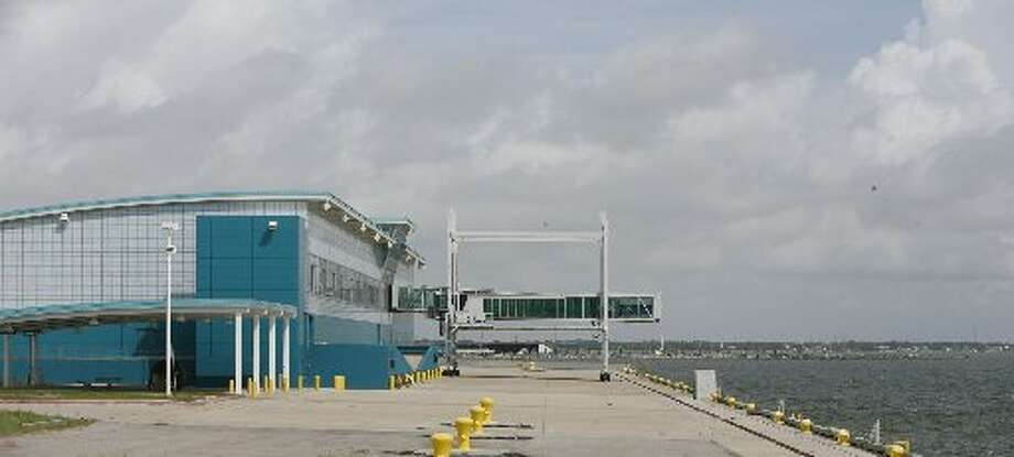 The Port of Houston Authority's  Bayport Cruise Terminal still has no  ships two years after being built as seen on Thursday, July 22, 2010, in Houston. ( Julio Cortez / Chronicle )