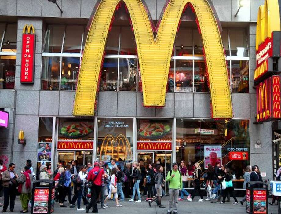 7. McDonald'sBrand Value: $41,992 millionPercent Change in 2012: 5%Source: Interbrand