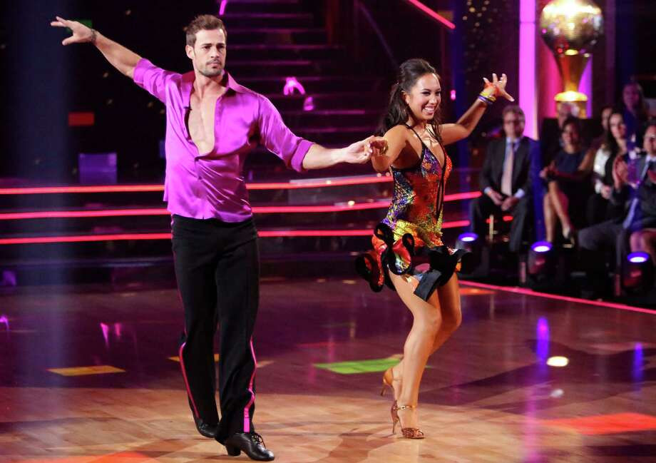 "In this Monday, May 21, 2012 image released by ABC, William Levy and his partner Cheryl Burke perform on the celebrity dance competition series ""Dancing with the Stars,"" in Los Angeles. The winner of the competition will be declared on Tuesday. Photo: AP"