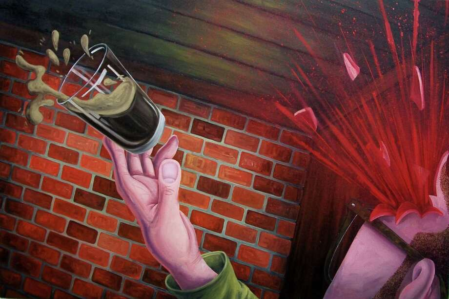 """Brian Cirmo """"A Shot and a Beer"""" 2010 (Courtesy Arts Center of the Capital Region)"""