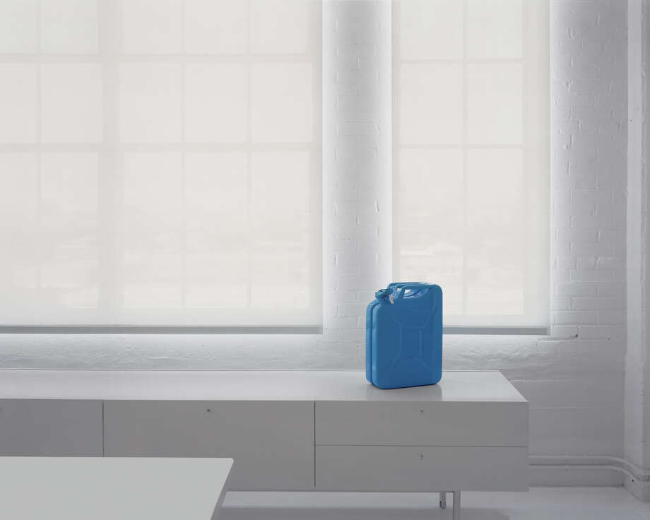 """Adam McEwen, Jerrycan (water)"" is one of eight images by Adam Schreiber examining the interplay between art object and setting. Photo: Adam Schreiber"