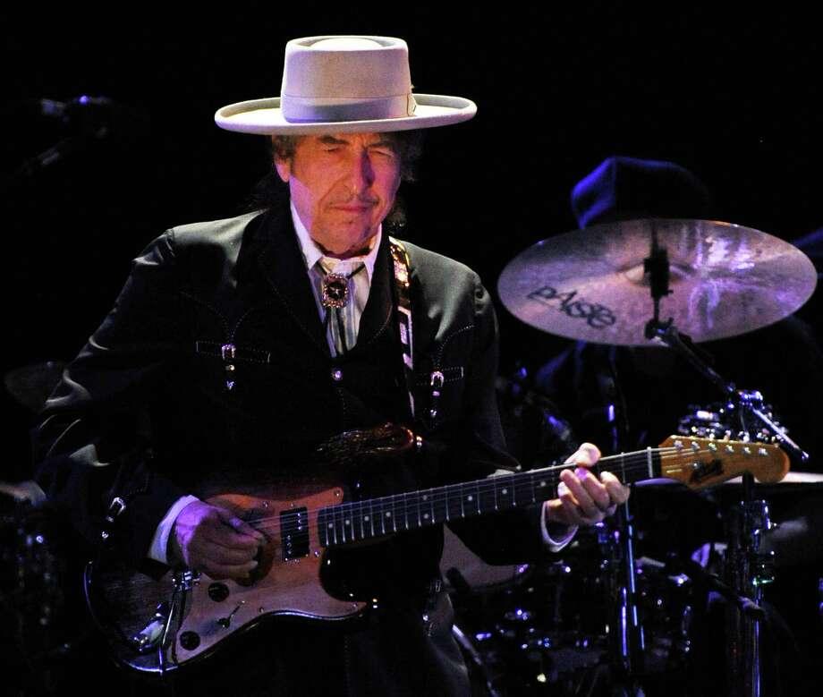 Bob Dylan Photo: Torsten Blackwood / AFP