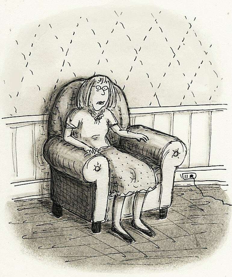 A self-portrait of Roz Chast Photo: Roz Chast
