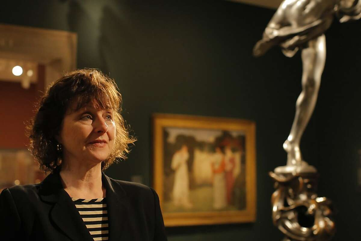 """""""When they put the paintings and the sculptures up, I cried, it was so beautiful"""" says curator Lynn Orr as she walks the first of the galleries in her exhibition """"The Cult of Beauty"""" at the Legion of Honor in San Francisco, Calif. on May 21, 2012. It took her 15 year to do the research on the British Aesthetic Movement from 1860-1900 and to collect the pieces from around the world."""