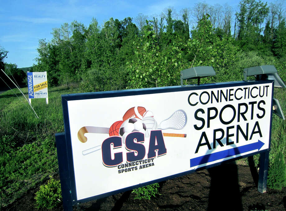 Owners of the Connecticut Sports Arena in New Milford are interested in expansion of their business to property to the east, above, and south of the current operation. May 2012 Photo: Norm Cummings