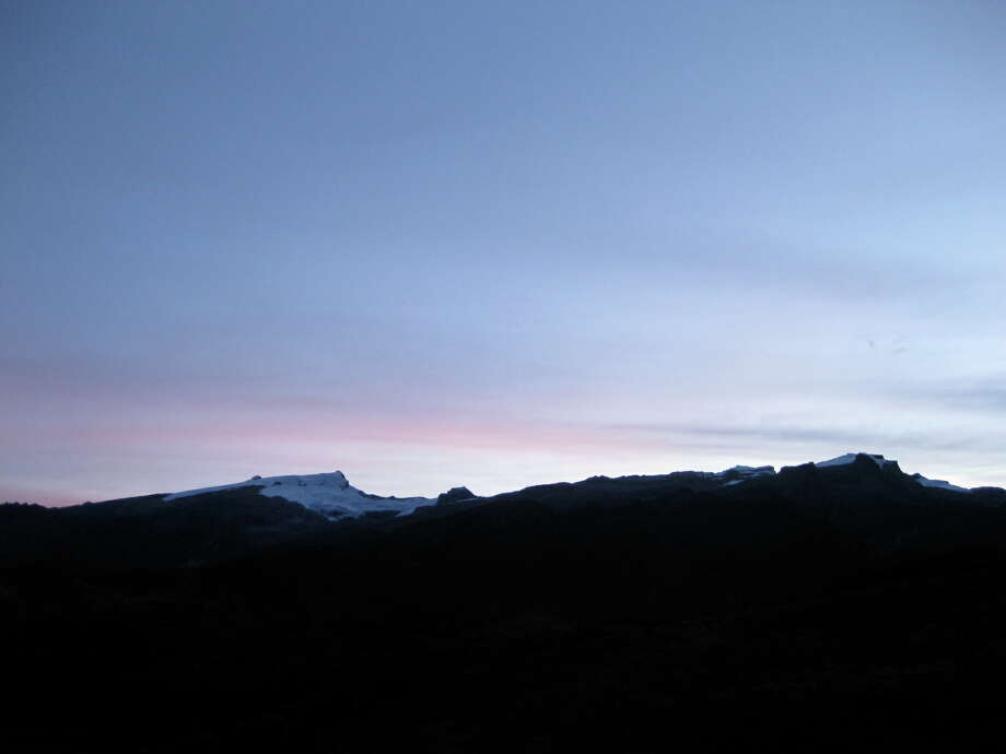 The icecap mountains of El Cocuy National Park at sunrise. Photo: Will Cogswell