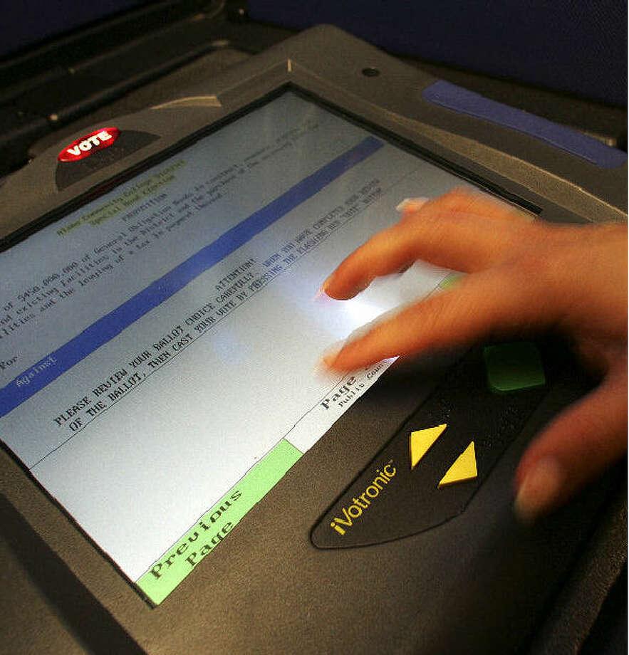 electronic ballot