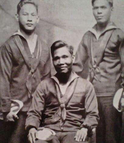 "military, as this vintage photograph at the ""Filipino Voices: Past"