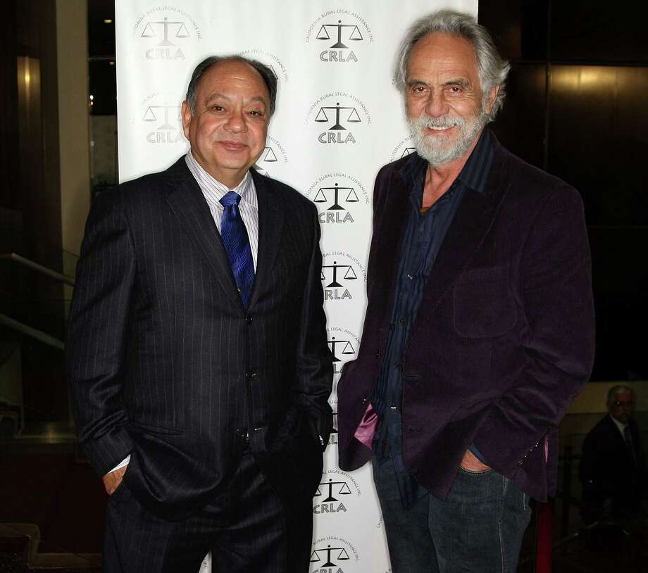 BEVERLY HILLS, CA - FEBRUARY 09:  Actors Cheech Marin (L) and Tommy Chong attend the California Rural Legal Assistance Teguino Celebration Gala at the Beverly Hilton Hotel on February 9, 2009 in Beverly HIlls, California.  (Photo by Frederick M. Brown/Getty Images) Photo: Frederick M. Brown / Getty Images North America