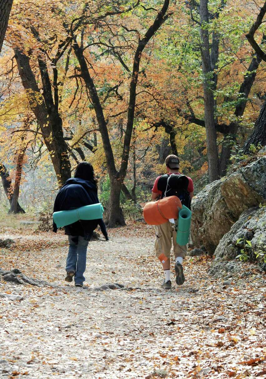 Hiking 3. The Natural Area offers over 10 miles of trails for hikers to explore, including a loop that tops a 2,200-foot cliff. Look for the limestone outcrop known as