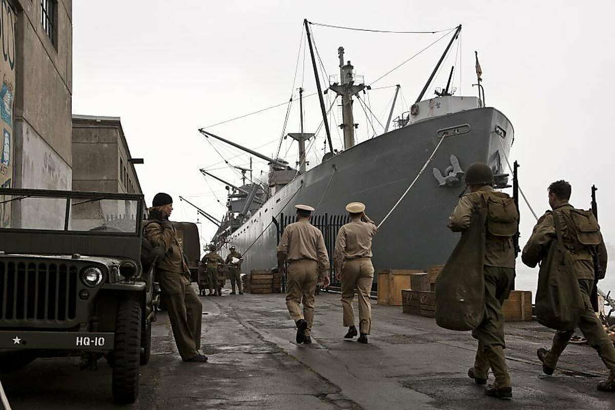 """The SS Jeremiah O'Brien was used for the HBO film, """"Hemingway and Gelhorn,"""" which was directed by Phil Kaufman."""