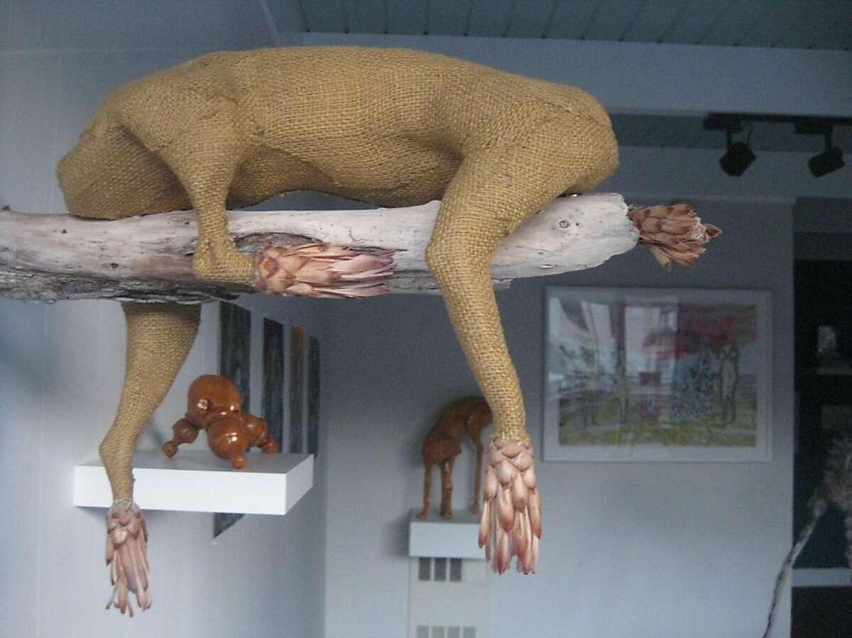 S.F. artist Misa Inaoka's work was on display at ArtPad SF.