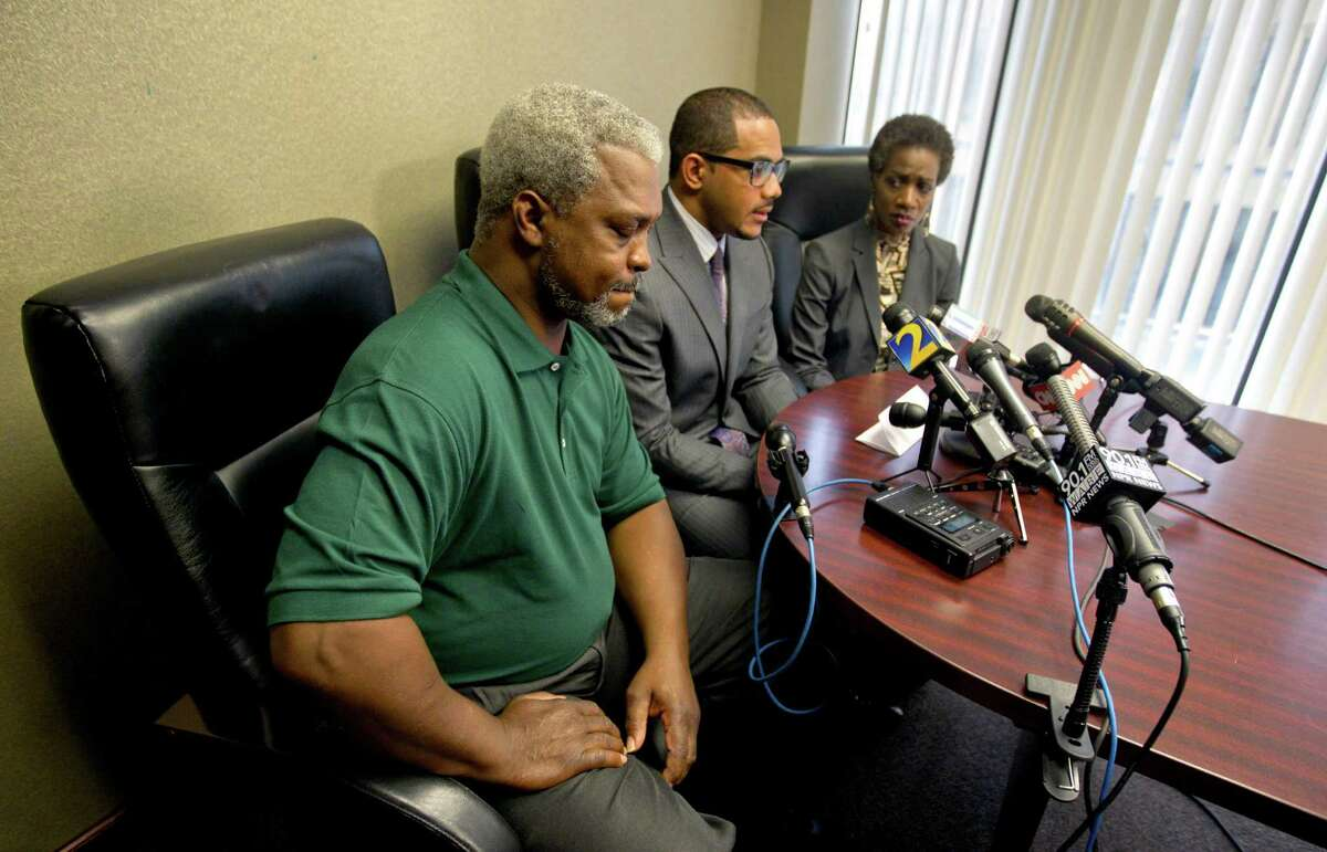 Pictured here, Robert and Pam Champion speak to reporters following the 2012 hazing death of their son, a Florida A&M University drum major. According the Guardian, some researchers believe as many as 800,000 students per year experience some hazing. We've collected more than a dozen cases in which Texas students have lost their lives due to initiation rituals and pranks.Source: The Hazing Reader