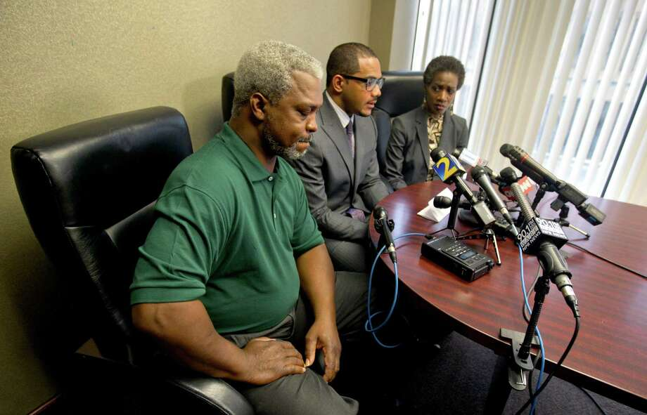 Pictured here, Robert and Pam Champion speak to reporters following the 2012 hazing death of their son, a Florida A&M University drum major. According the Guardian, some researchers believe as many as 800,000 students per year experience some hazing. We've collected more than a dozen cases in which Texas students have lost their lives due to initiation rituals and pranks.Source: The Hazing Reader Photo: David Goldman / AP
