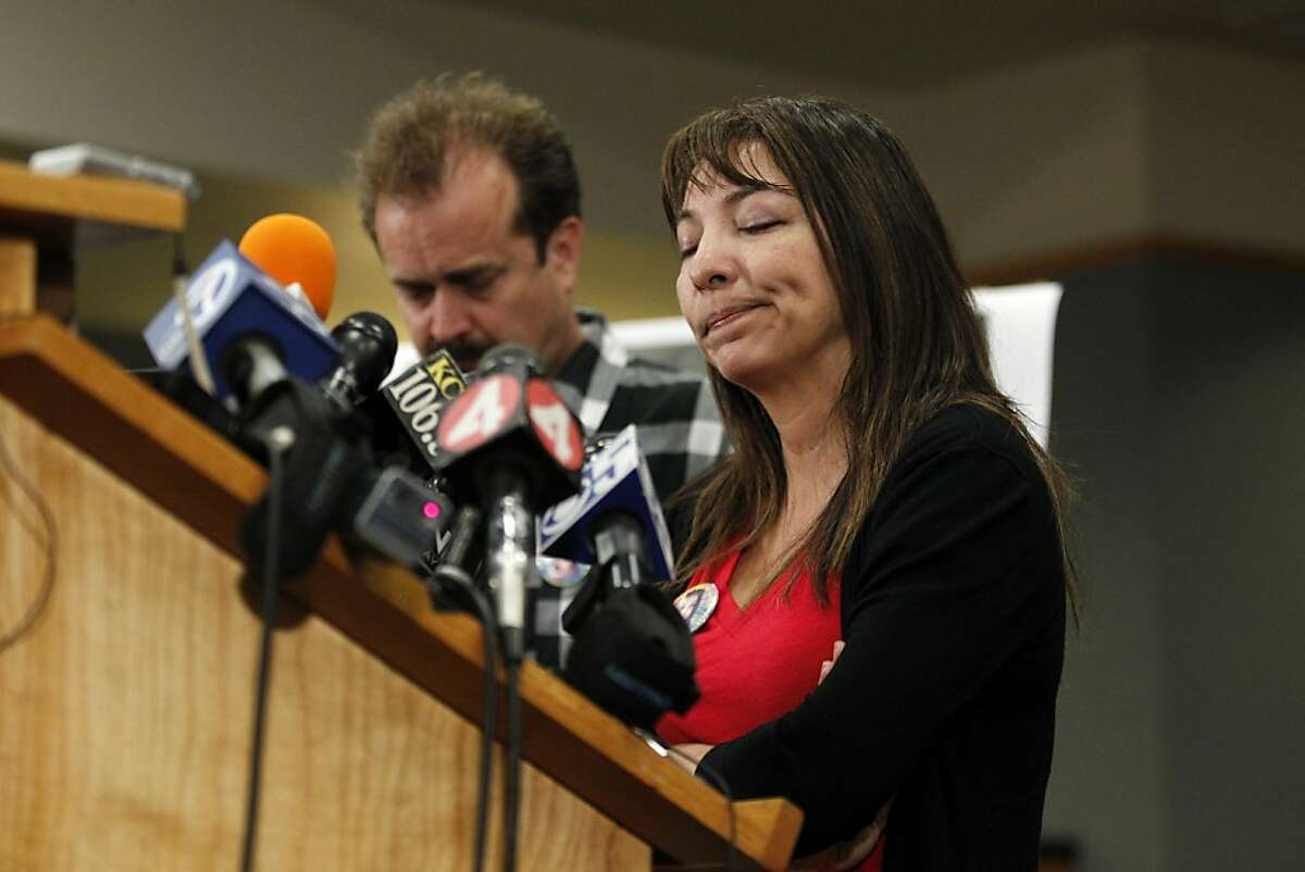 Marlene LaMar, mother of the missing girl Sierra LaMar, speaks during a news conference regarding the arrest of Antolin Garcia-Torres at the Santa Clara County Sheriff's Office on Tuesday May 22, 2012 in San Jose, Calif.