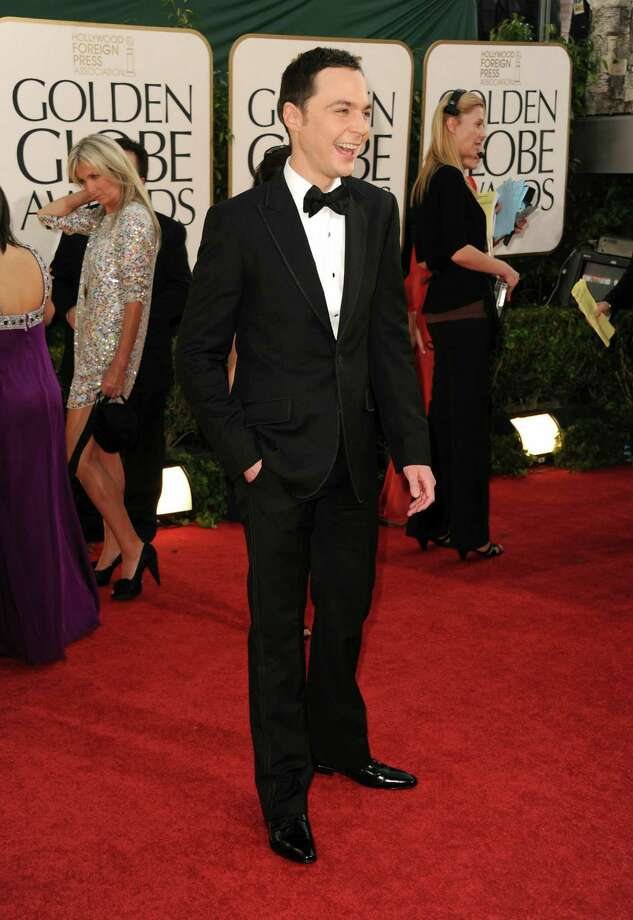 BEVERLY HILLS, CA - JANUARY 16:  Actor Jim Parsons arrives at the 68th Annual Golden Globe Awards held at The Beverly Hilton hotel on January 16, 2011 in Beverly Hills, California.  (Photo by Frazer Harrison/Getty Images) Photo: Frazer Harrison / Getty Images North America