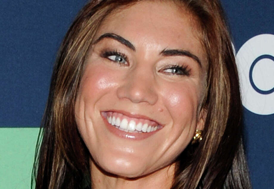 "FILE - In this July 19, 2011 file photo, U.S. Women's Soccer team player Hope Solo attends the final season premiere of ""Entourage"" at the Beacon Theatre in New York. Sole will be one of eleven celebrities competing on the upcoming season of ""Dancing withthe Stars."" Photo: Evan Agostini / AP / AGOEV"