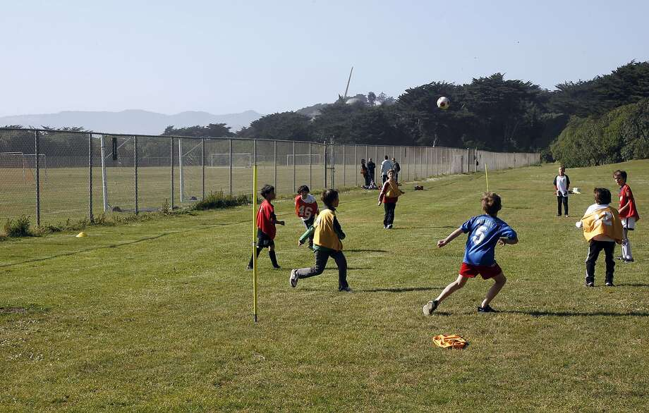 S.F. voters probably will have two ballot measures to choose from to decide if artificial turf and lights will be installed at the west end of Golden Gate Park. Photo: Michael Macor, The Chronicle