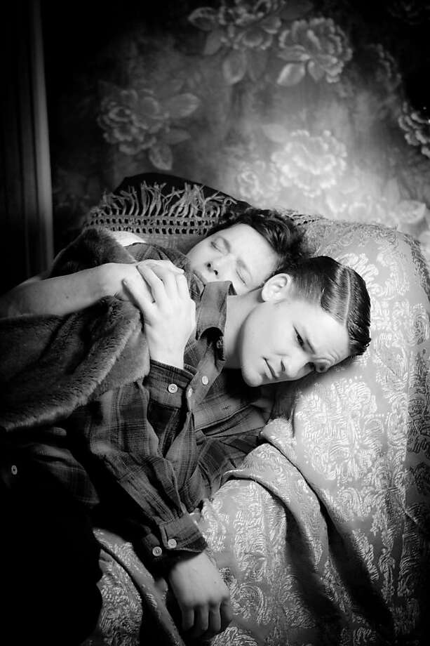 "Isabella Rossellini and David Wontner in Guy Maddin's ""Keyhole"" Photo: Cinema Atelier Tovar Ltd."