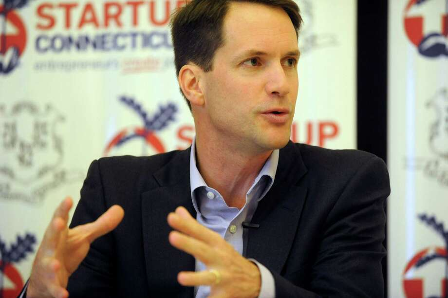 Congressman Jim Himes speaks during a StartUp Connecticut roundtable discussion about entrepreneurship at the Stamford Innovation Center on Thursday, May 24, 2012. Photo: Lindsay Niegelberg / Stamford Advocate