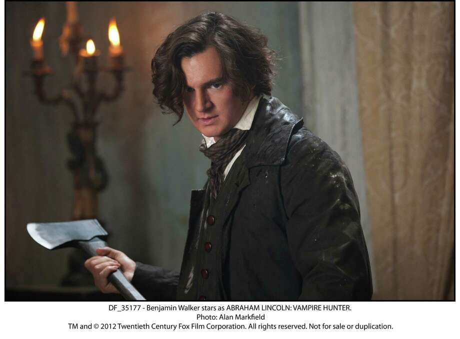 DF_35177 - Benjamin Walker stars as ABRAHAM LINCOLN: VAMPIRE HUNTER. Photo: Photo: Alan Markfield, Twentieth Century Fox / TM and © 2012 Twentieth Century Fox Film Corporation. All rights reserved. Not for sale or duplication.