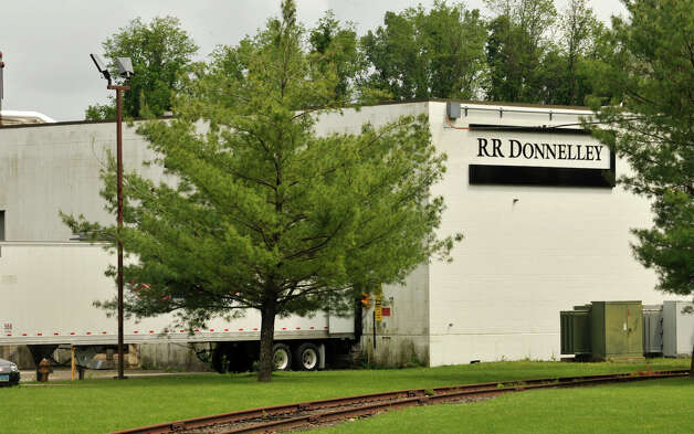 R. R. Donnelley plans to close its Danbury, Conn., facility in early August and 145 people will lose their jobs. Photographed on Thursday, May 24, 2012. Photo: Jason Rearick / The News-Times