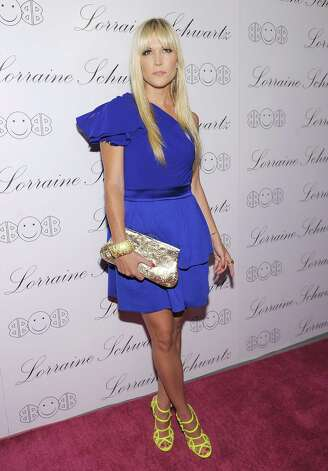 "NEW YORK - NOVEMBER 22:  TV personality Tinsley Mortimer attends the launch of Lorraine Schwartz's ""2BHAPPY"" jewelry collection at Lavo NYC on November 22, 2010 in New York City.  (Photo by Michael Loccisano/Getty Images) Photo: Michael Loccisano / Getty Images North America"