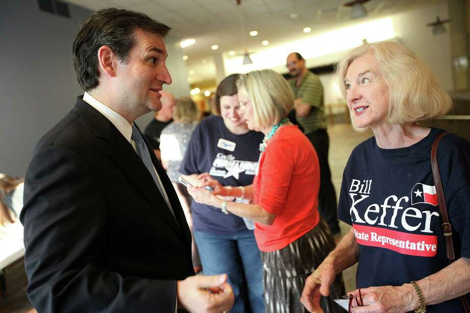 U.S. Senate GOP candidate and former Texas solicitor general Ted Cruz,  campaigning recently in Dallas, is the choice of many social conservatives. Photo: Andrew Buckley / Copyright: Andrew Buckley