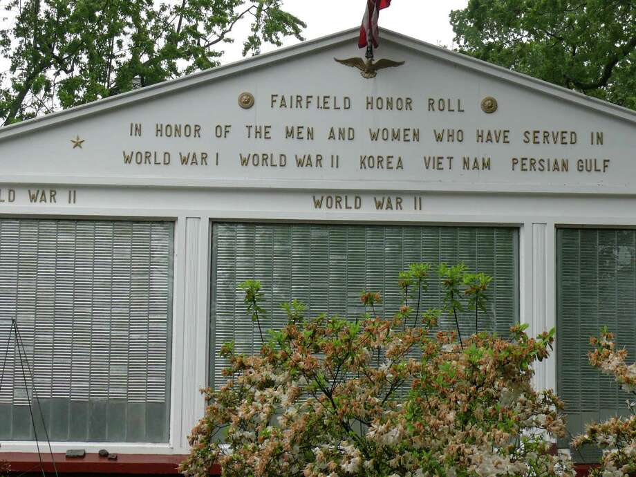Those who have served in the armed forces will be honored in Fairfield this weekend during ceremonies on land and on sea. Photo: Paul Schott, Genny Reilly / Fairfield Citizen