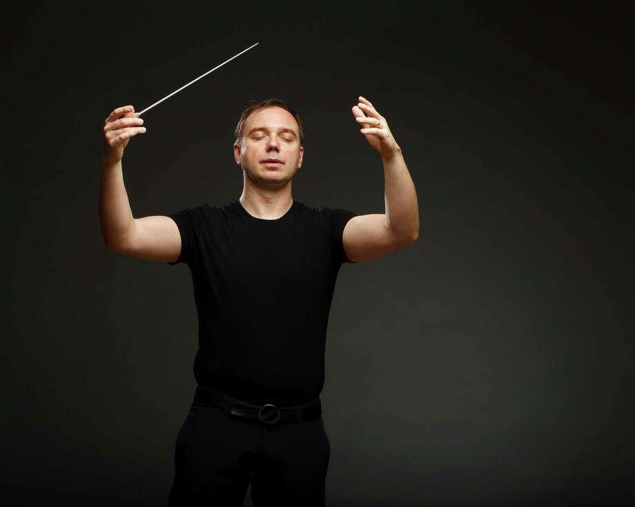 San Antonio Symphony music director Sebastian Lang-Lessing Photo: Marks Moore, Marks Moore Photography / Marks Moore Photography