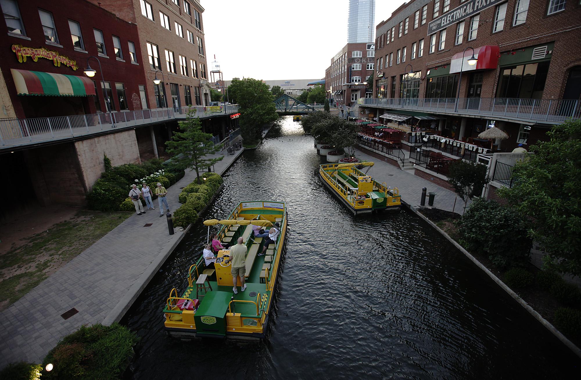 A River Runs Through Okc Too Well Sort Of San
