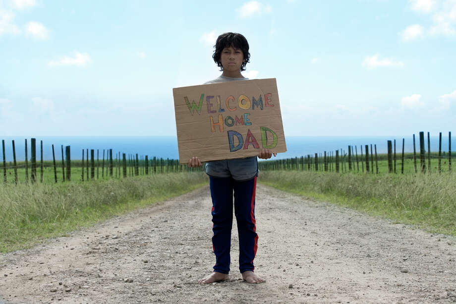 Boy (James Rolleston) waits for his Dad. Photo: Matt Grace / Darryl Ward