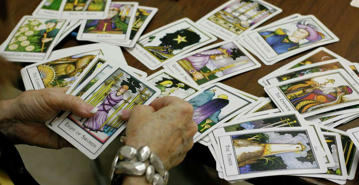 Tarot cards are part of a psychic's arsenal. In a round-up of a few local psychics, reporter Pete Holley found that some seers put more effort into their readings than others.