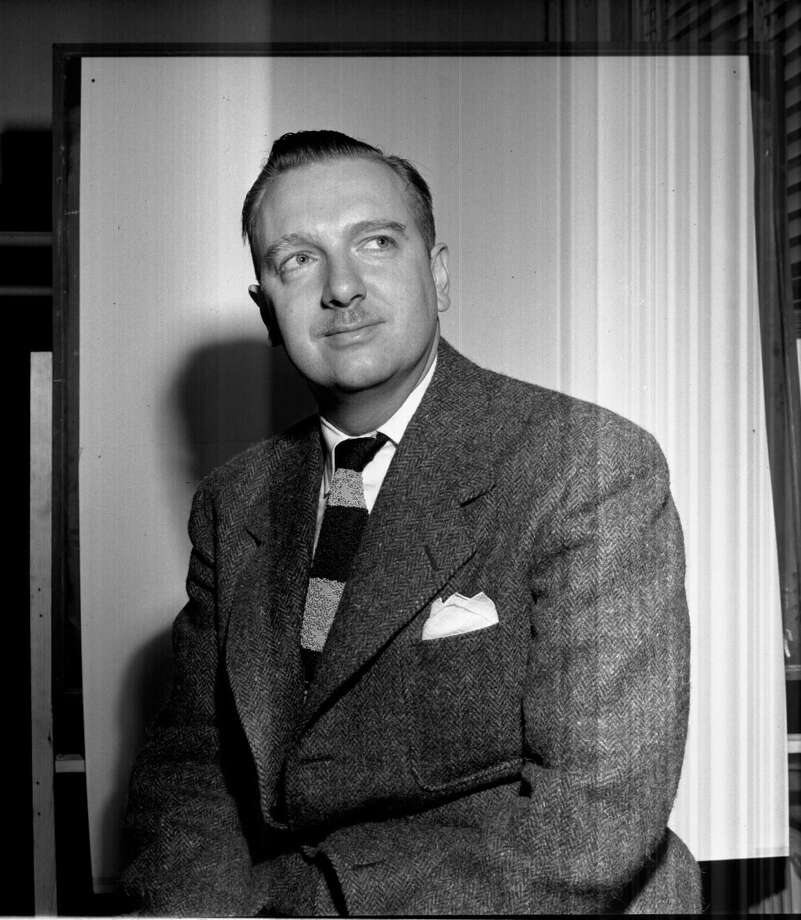 Walter Cronkite, seen here around 1935, worked as a reporter at the Houston Post. / Houston Post files