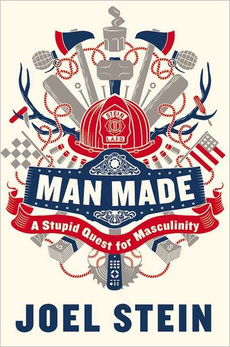 """Cover for """"Man Made"""" by Joel Stein Photo: Xx"""