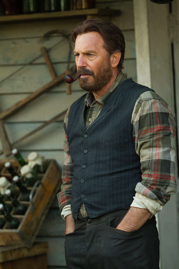 """Kevin Costner, above, and Bill Paxton lead an all-star cast in """"Hatfields & McCoys,"""" a miniseries about the legendary feuding families. It airs at 8 p.m. Monday, Tuesday and Wednesday on History. Photo: Chris Large / Chris Large"""